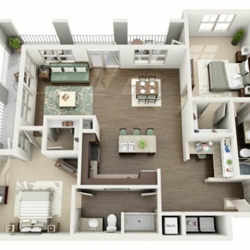 Floor Plan 8 | Azure (FL)