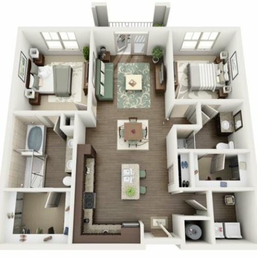 Floor Plan 6 | Azure (FL)