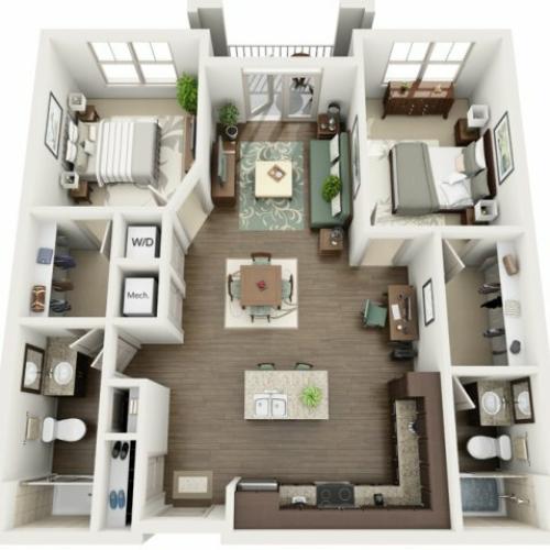 Floor Plan 20 | Azure (FL)