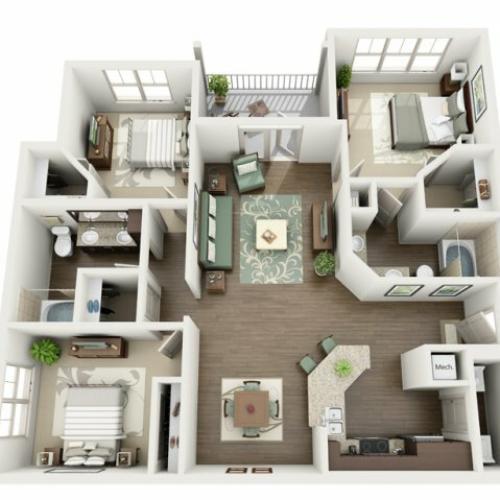 Floor Plan 16 | Azure (FL)
