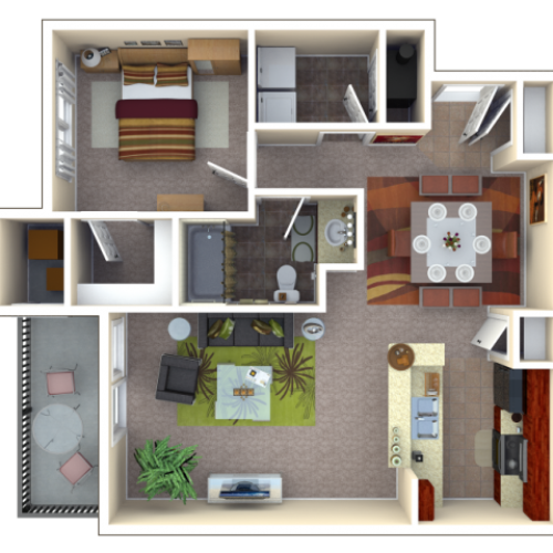 Floor Plan 3 | Autumn Breeze