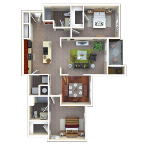 Floor Plan 2 | Autumn Breeze