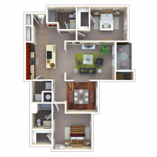 Floor Plan 6 | Autumn Breeze