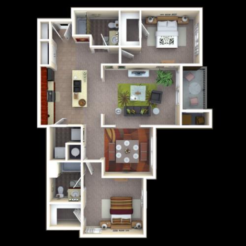 Floor Plan 6 | Autumn Breeze
