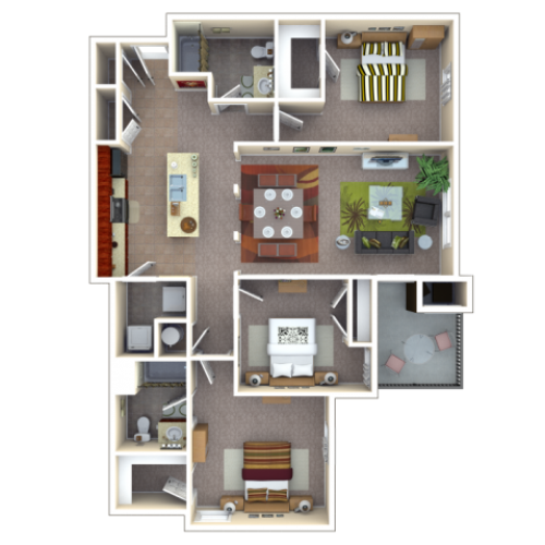 Floor Plan | Autumn Breeze