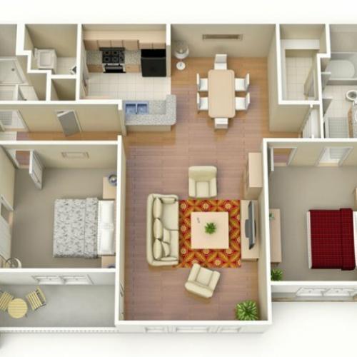 Floor Plan 3 | San Paloma