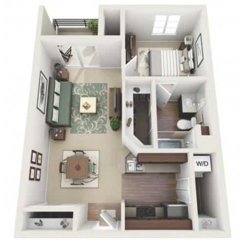 Floor Plan 6 | Santa Monica Luxury Apartments | AO Santa Monica
