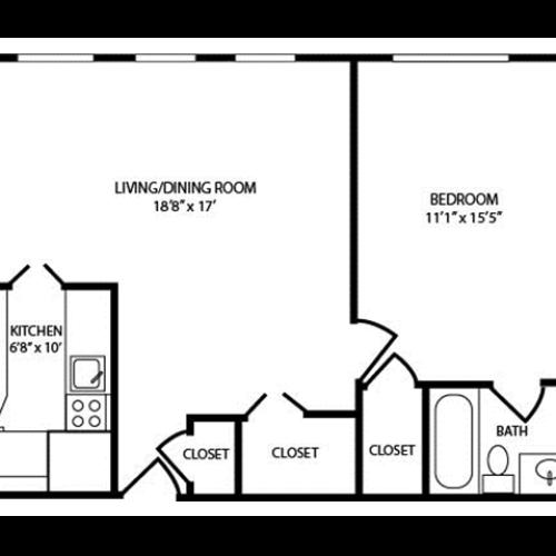 Floor Plan 24 | The Seneca