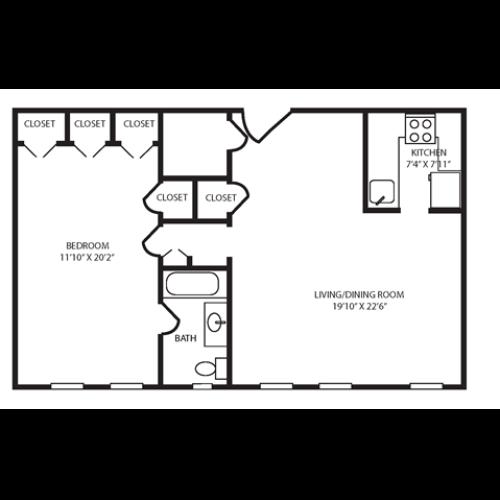 Floor Plan 28 | The Seneca
