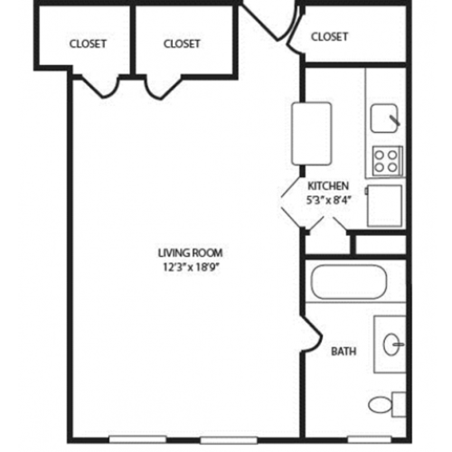 Floor Plan 4 | The Seneca