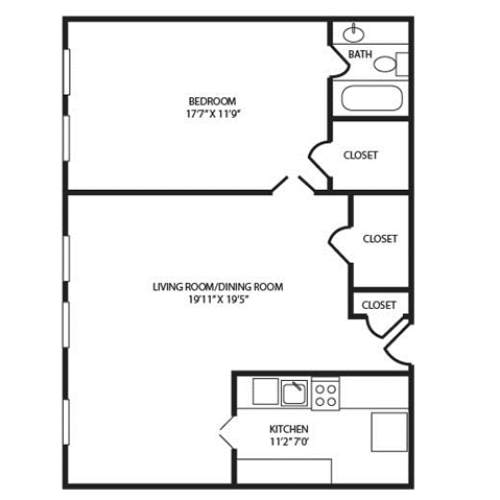 Floor Plan 22 | The Seneca
