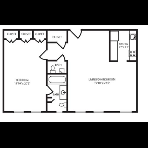 Floor Plan 11 | The Seneca