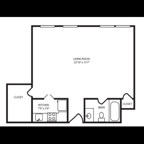 Floor Plan 14 | The Seneca