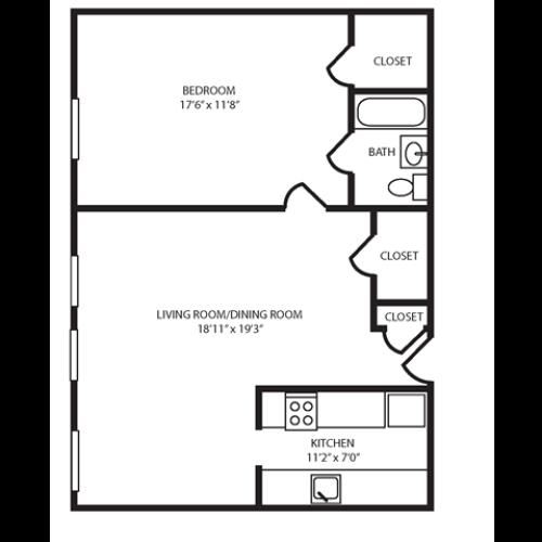 Floor Plan 20 | The Seneca