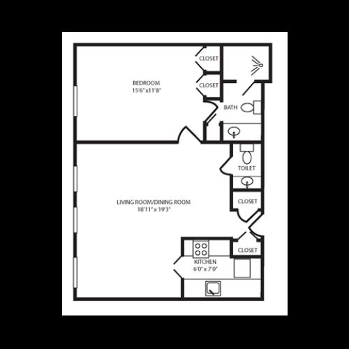 Floor Plan 21 | The Seneca