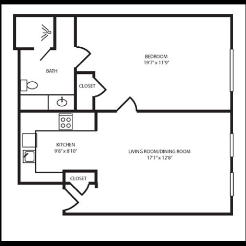 Floor Plan 6 | The Seneca