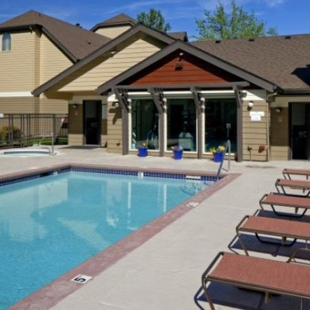Resort Style Pool | Apartments Vancouver WA | Golfside Village