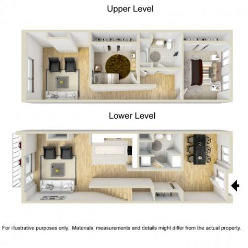 2 Bedroom Apartments | Museum Place8