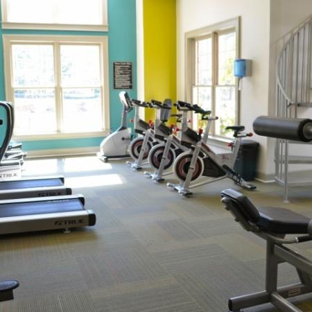 Fitness Center at Dunwoody Place Apartments 2