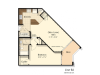 B2 | 1 bed 1 bath | from 720 square feet