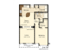 B4 | 1 bed 1 bath | from 850 square feet