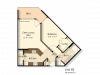 B5 | 1 bed 1 bath | from 780 square feet
