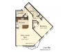 B6 | 1 bed 1 bath | from 940 square feet