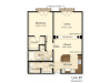 B7 | 1 bed 1 bath | from 910 square feet