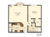 B9 | 1 bed 1 bath | from 910 square feet
