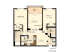 E1 | 2 bed 2 bath | from 1130 square feet