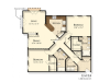 E4 | 2 bed 2 bath | from 1390 square feet