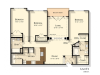 F3 | 3 bed 2 bath | from 1470 square feet