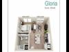Gloria | Studio1 bath | from 576 square feet