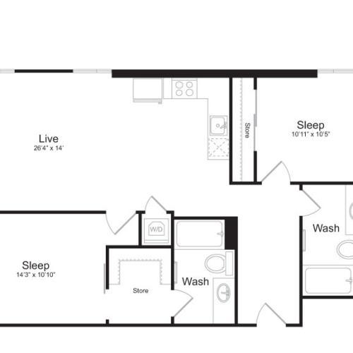 Floor Plan 2 | Mark on 8th