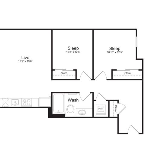 Floor Plan 4 | Mark on 8th