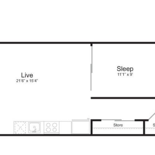 Floor Plan 5 | Mark on 8th