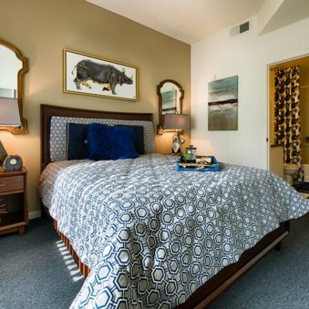 Elegant Master Bedroom | Luxury Apartments Tempe AZ | Tempe Metro
