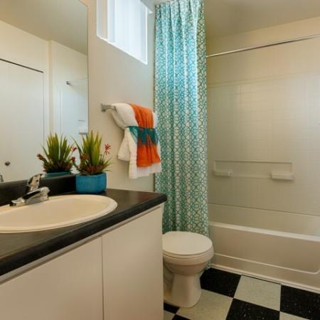 Spacious Bathroom | Luxury Apartments Tempe AZ | Tempe Metro