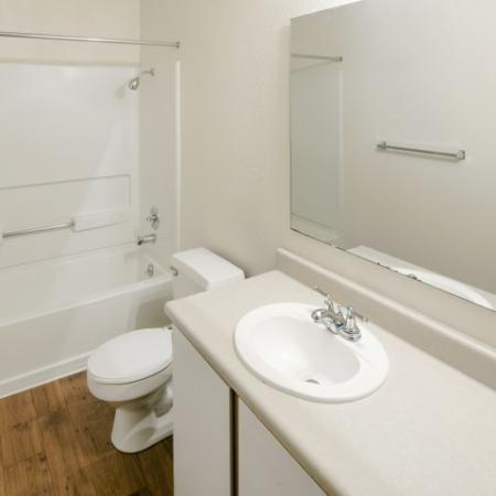 Spacious Bathroom | 1 Bedroom Apartments Vancouver WA | Golfside Village