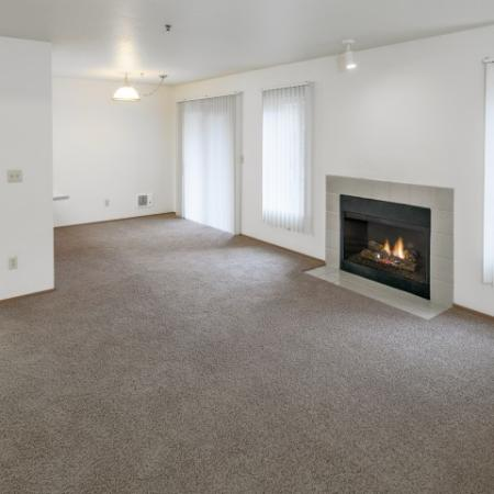 Spacious Living Room | Apartments Vancouver WA | Golfside Village