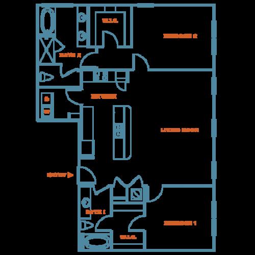 2 Bedroom | Apartments Near Louisville Kentucky