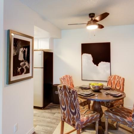 Spacious Dining Room | Arvada Village Apartments | The Ridge at Mountain View