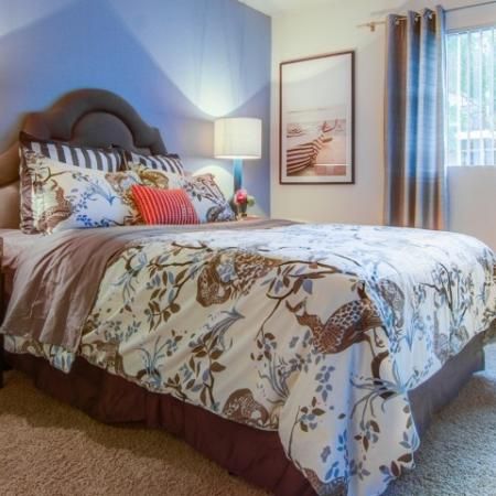Spacious Master Bedroom | Apartments For Rent In Arvada CO | The Ridge at Mountain View