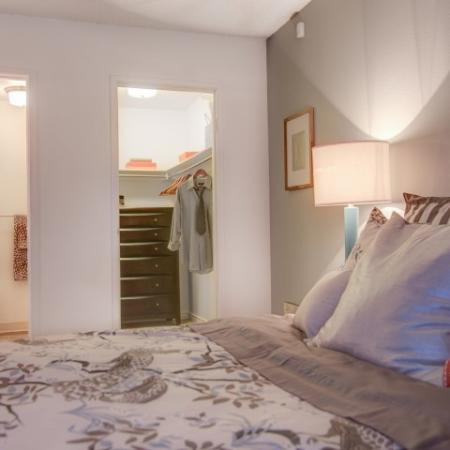 Elegant Bedroom | Apartments Near Boulder CO | The Ridge at Mountain View