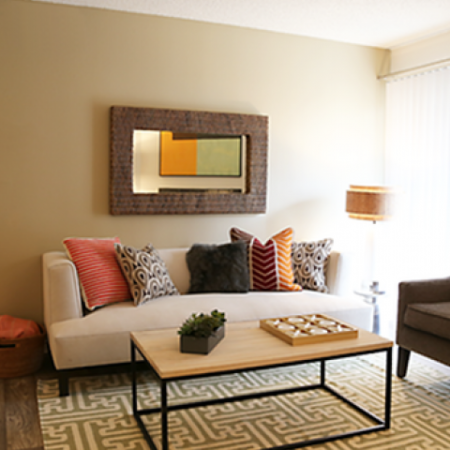 Elegant Living Area | Apartments Arvada CO | The Ridge at Mountain View