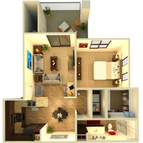 A1 | Chandler Apartments | Almeria at Ocotillo 2