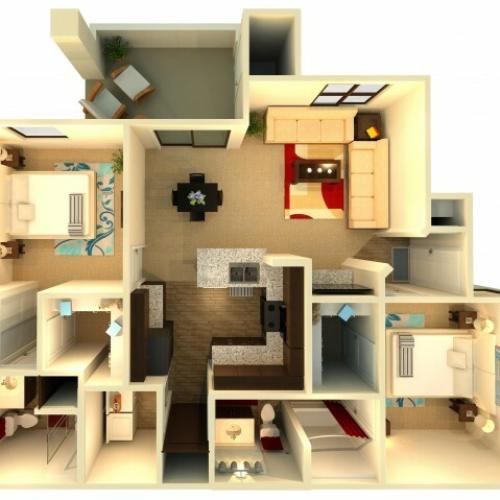 B2   Chandler Apartments   Almeria at Ocotillo 2