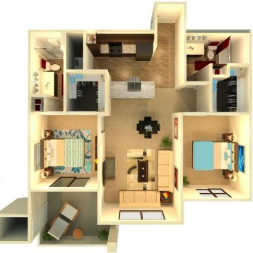 B6   Chandler Apartments   Almeria at Ocotillo 2