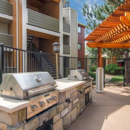 Resident BBQ | Apartments In Littleton CO | Terra Vista at the Park 1