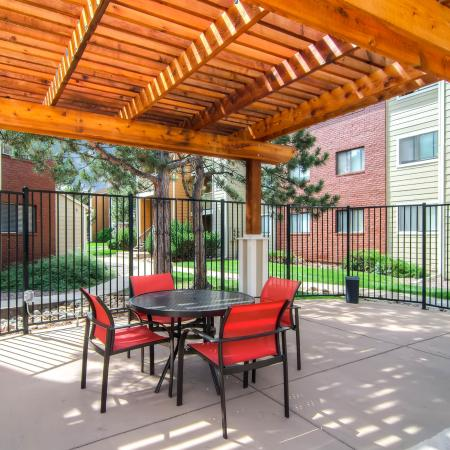 Community BBQ Grills | Apartments In Littleton Colorado | Terra Vista at the Park 1